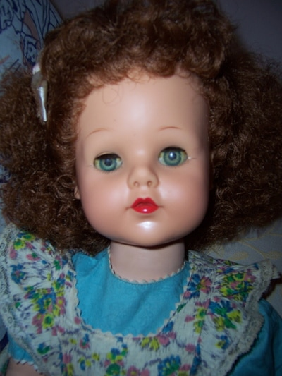 Posie Ideal Doll In Original Box Magic Bent Knees